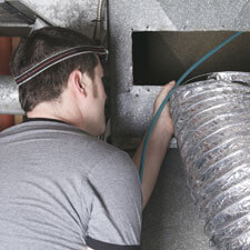 HVAC Indoor Worker