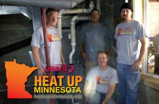 Heat up Minnesota